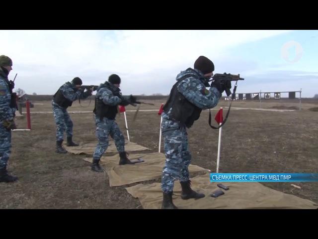 Спецподразделения МВД провели совместную тренировку снайперов и стрелков