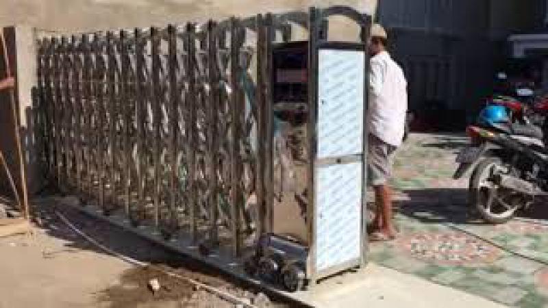 Cổng hàng rào inox lắp tại Sóc trăng-0913183440-Ms.Lan