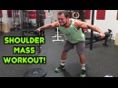 Intense 15 Minute Gym Shoulder Workout for Muscle Mass