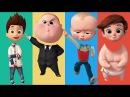 Wrong Heads Paw Patrol Ryder Tim Templeton Boss Baby Jumbo Family Finger Song Nursery Rhymes Kids