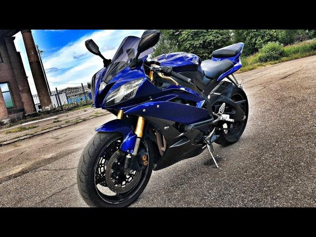 Красивая сучка. Тест-драйв Yamaha R6. Купил бы?