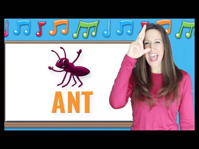 Phonics | The Letter A | Signing for Babies ASL | Letter Sounds A | Patty Shukla
