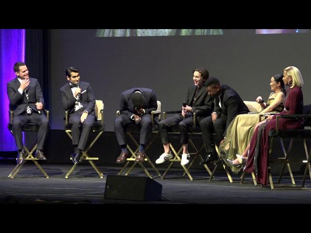 SBIFF 2018 - Virtuosos Award - Group Discussion (Timothee Chalamet, John Boyega, Daniel Kaluuya...)