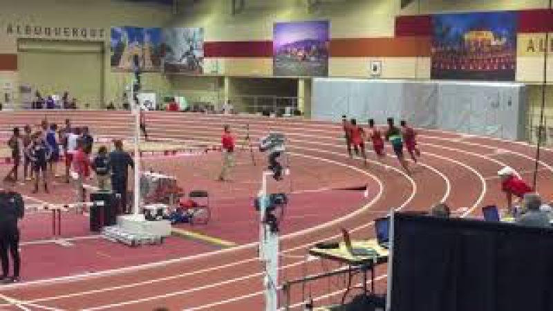 Мировой рекорд для залов в беге на 600 м от Майкл Саруни - 1:14.79