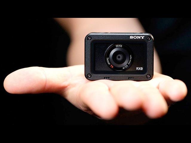 Камера Sony размером с GoPro - RX0