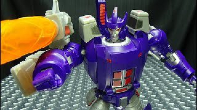 Open and Play BIG CANNON (Galvatron): EmGo's Transformers Reviews N' Stuff