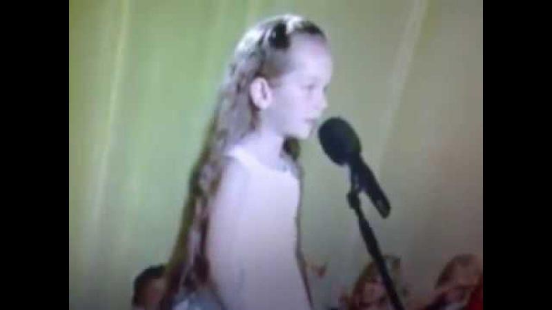 Laulukarussell 2008 - Hellika Otsar - Valge maale laul(Dina Nurpeisova - Aapo Ilves)
