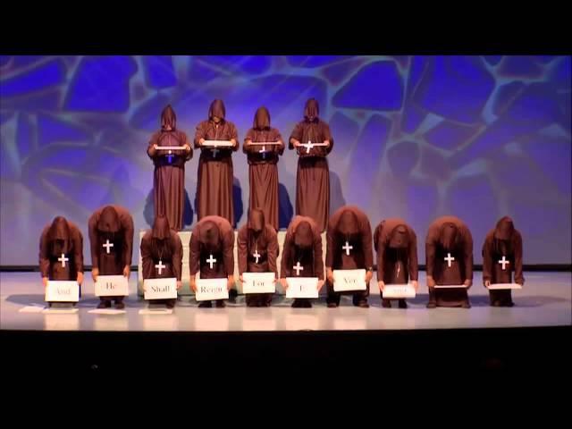 Hallelujah Chorus Silent Monks funny