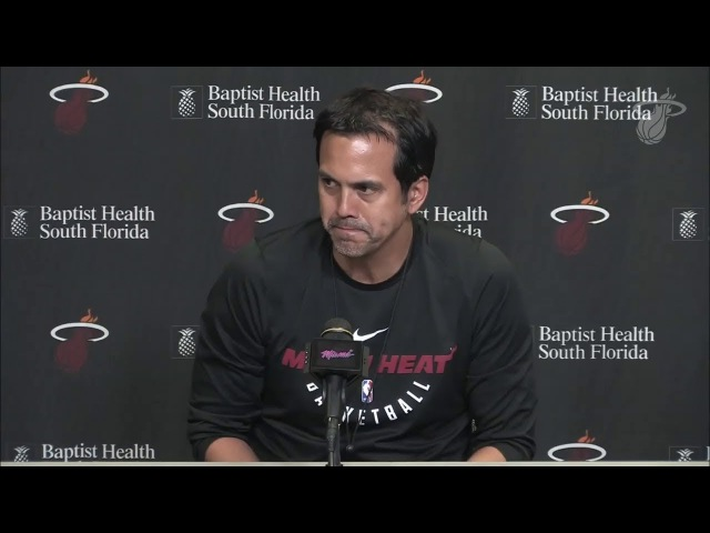 Erik Spoelstra on Having Dwyane Wade Back in Miami Heat | February 9, 2018 | 2018 NBA Trade Deadline