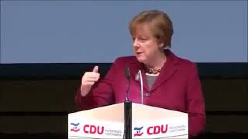 Merkel sagte Ende 2015 dass Syrer kein Asyl bekämen sondern nur temporären Schutz