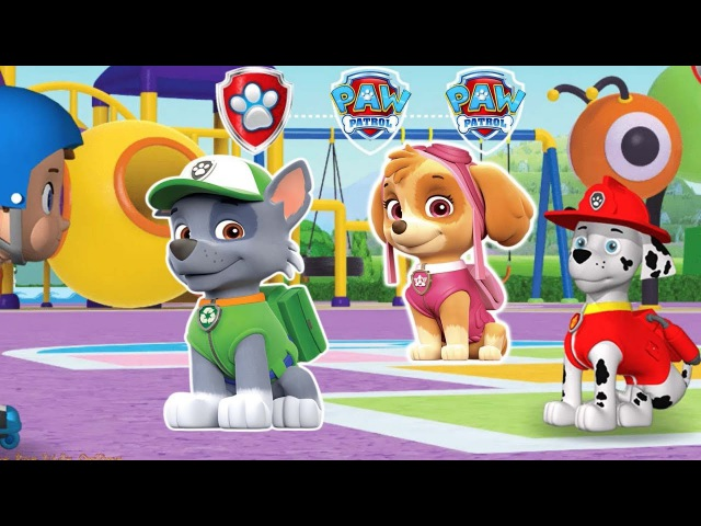 Paw Patrol Stay Safe With Games for kids Online