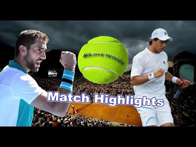 Marin Cilic vs Carlos Berlocq - RIO Open R1