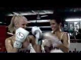 Ralph TV babes show you how to box !!