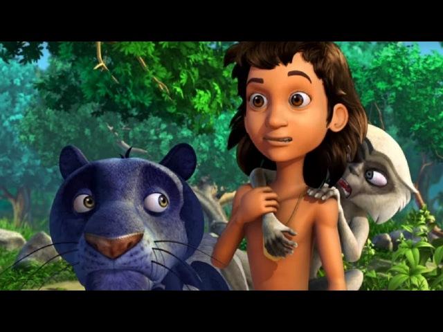 Маугли - Книга Джунглей – Сокровища холодных берлог 💰– развивающий мультфильм для детей