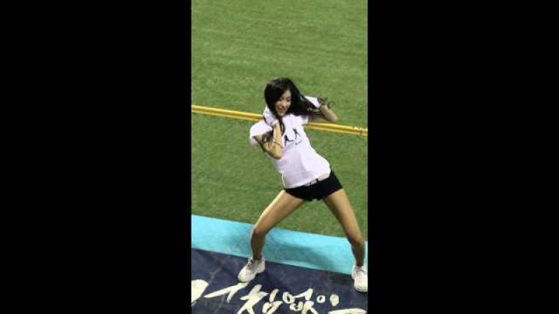 NC 김연정 치어리더 댄싱게놈 I'm so sexy 직캠(NCDINOS Cheerleaders)
