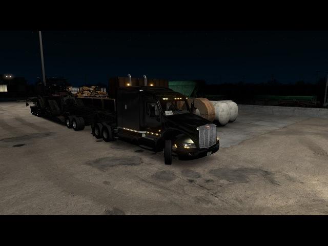 Перевозим гусеничний трактор из DLS Heavy Cargo Pack.