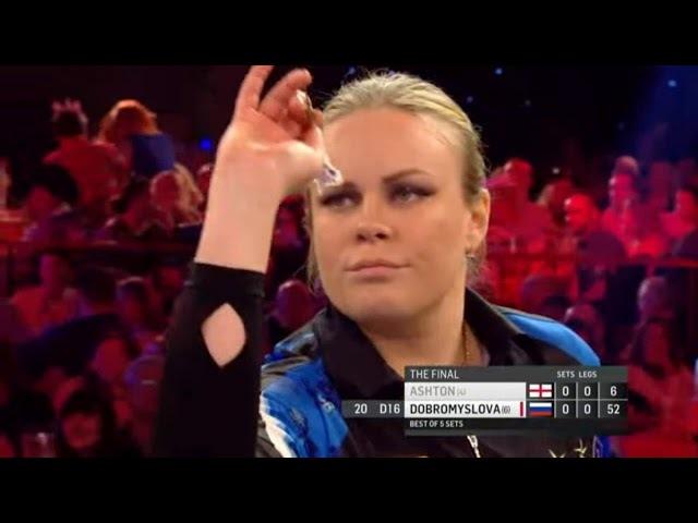 Ladies World Championship 2018 Final - Ashton v Dobromyslova
