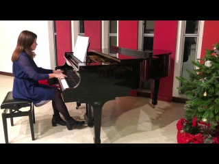 Sing we now of Christmas piano jazz Martha Mier arrangement