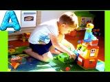 Строим Автозаправку и Магазин из Лего. Building a Gas Station and a Store with Lego.