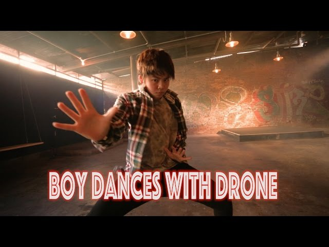 Boy Dances With Drone Bloodstream @edsheeran