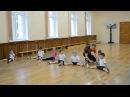 Открытый урок Акробатика младшая группа 25.05.15