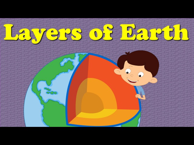 Layers of the Earth for Kids | aumsum kids education layers earth