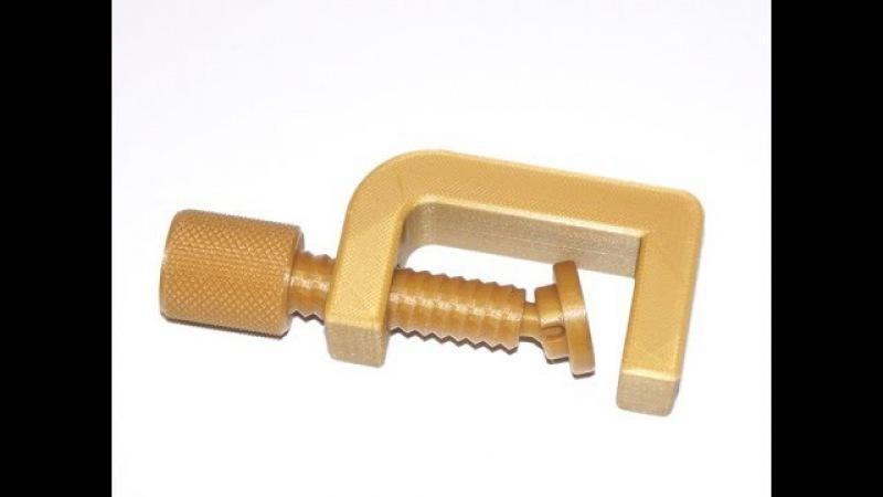 Печатаем струбцину (G-Clamp fully printable)