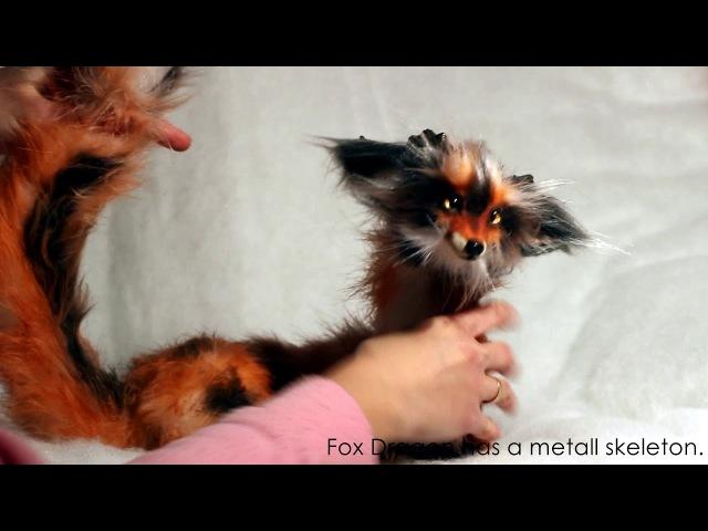 Fox dragon by Julia Gass
