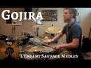 Gojira - L'Enfant Sauvage ALBUM DRUM COVER MEDLEY By Kevin Wade