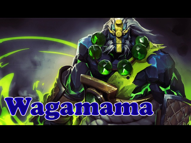 Dota 2 Wagamama amazing Earth Spirit Gameplay 52 kills