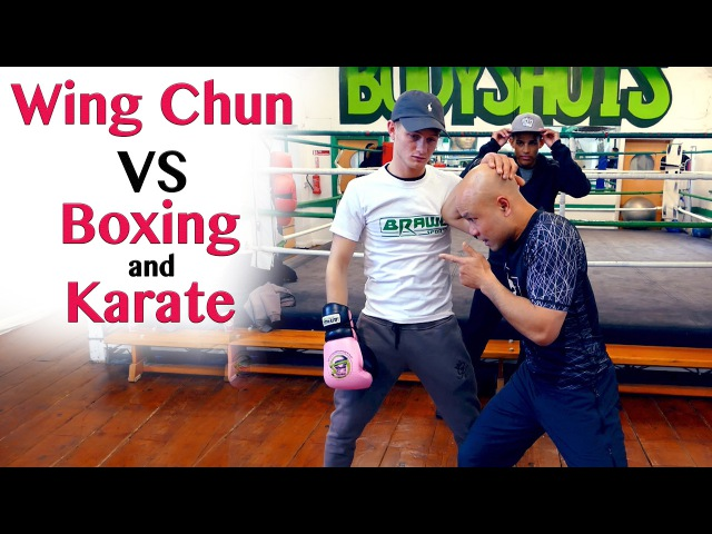 How Wing Chun Destroy a Boxer's Hook