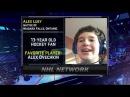 Alex Luey talks about meeting Alex Ovechkin