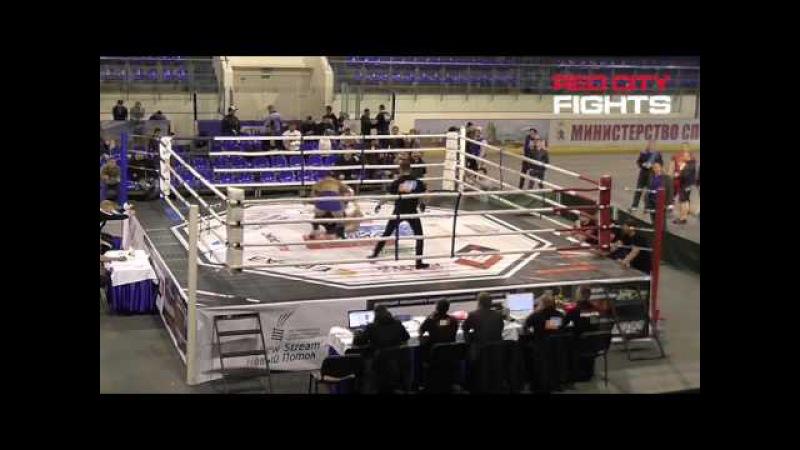 Бой №099: С. Степанов - А. Югов. MMA, чемпионат ПФО - 2016 (1/2 финала, 93 кг)
