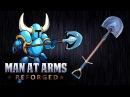 Shovel Blade Shovel Knight MAN AT ARMS REFORGED
