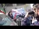 """Tehranda ermənilərilərin qarşısında Qarabağ bizimdir"""" deyən Güney Azərbaycan gəncləri"""