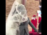 This Groom Is Really Happy To See His Bride!