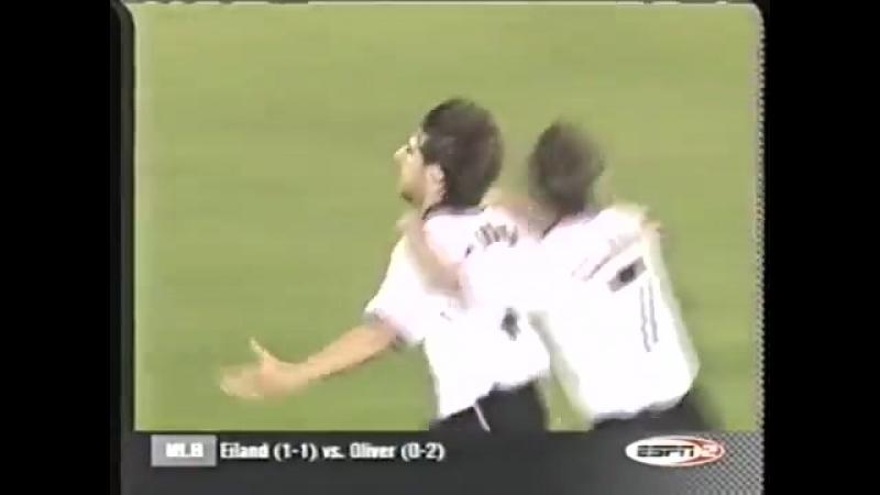 Валенсия 4-1 Барселона лч 1999-00 1-2 финала голы