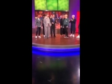 171116 BTS in KTLA Morning News Backstage