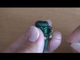 #МК - Серьги - кисти _ Оплетка кисточки _ #Tutorial - Earrings - brush _(3)