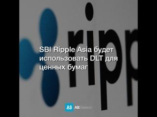 Sbi ripple asia будет использовать dlt для ценных бумаг