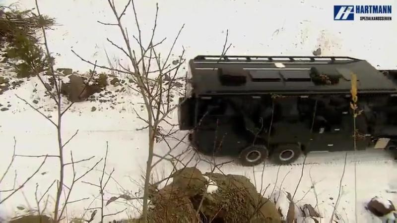 Дом на колесах на базе Mercedes Zetros