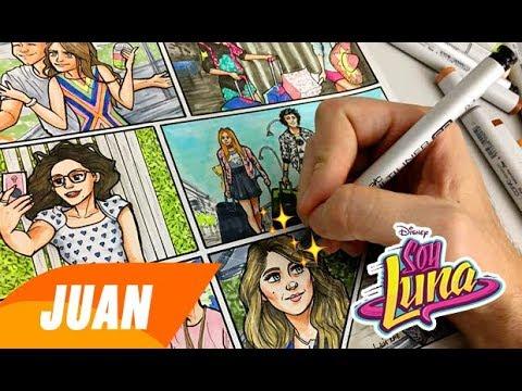 ¡Y Si Te Sumas Somos Mas! Dibujando MODO AMAR (Historieta)   SOY LUNA 3   Juan Da Corte