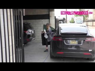 HD: Джессика приехала в спортзал ранним утром (7 марта 2018)