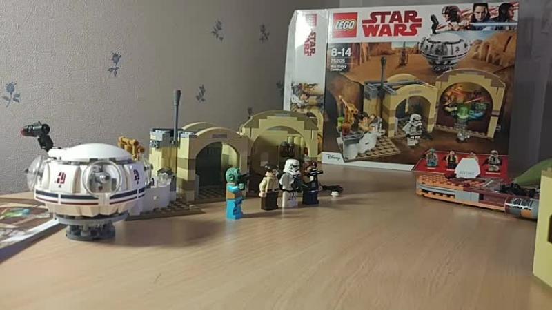 Собираем LEGO Star Wars — Mos Eisley Cantina (75205), часть 3 » Freewka.com - Смотреть онлайн в хорощем качестве