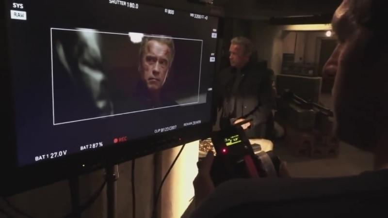 Съемки фильма Терминатор Генезис (Терминатор 5) Behind the Scenes Terminator Genisys