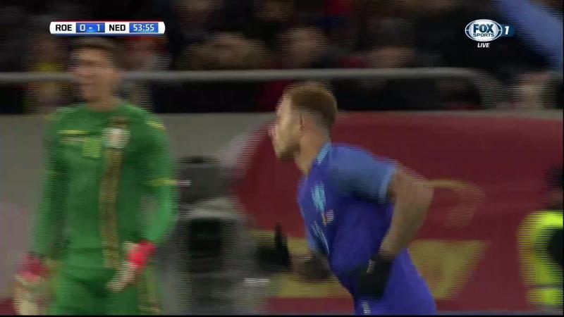 Футбол. Товарищеский матч 2017 / Румыния - Голландия. 2 тайм