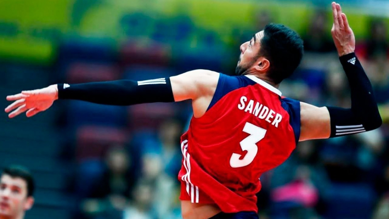 TOP 10 Amazing Volleyball Moments by Taylor Sander. Champions Cup 2017.