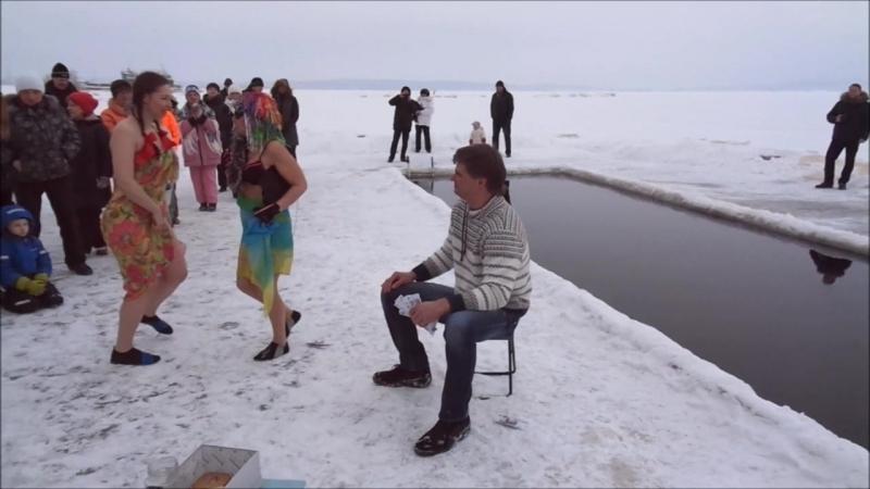Костюмированные заплывы. Мадам Брошкина- Нина, Анна, Никита.