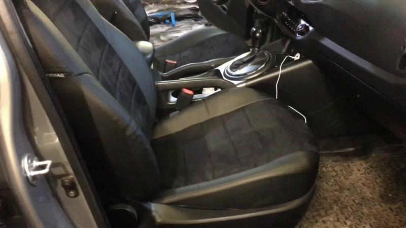 Автопилот со вставками из алькантары Kia Sportage 3