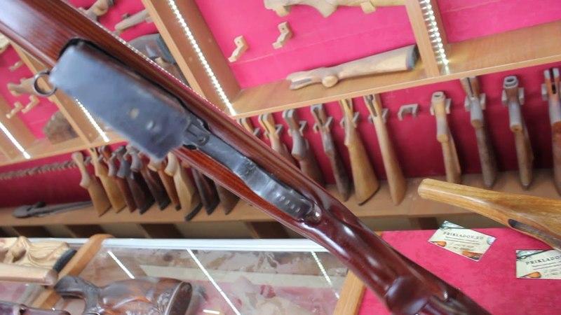 Ортопедическая ложа и накладка СВТ-40 (АВТ-40) ружейная фанера